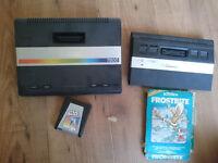 Atari 2600 and Atari 7800 consoles plus 2 games.