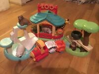 Happyland Zoo animals and accessories