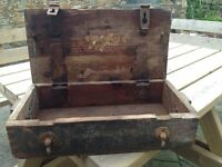 Wooden Military Tool Box