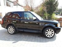 Range Rover Sport. 2.7 diesel. 72000 miles. Black. Black leather. Auto. Heated seats etc