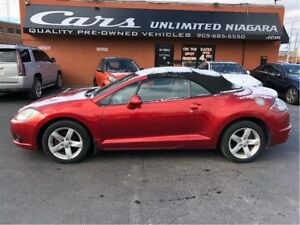 2009 Mitsubishi Eclipse GS | CONVERTIBLE | NO ACCIDENTS | LEATHE