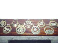 Antique horse brass
