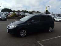 2012 12 VAUXHALL ZAFIRA 1.6 EXCLUSIV 5D 113 BHP **** GUARANTEED FINANCE **** PART EX WELCOME ****