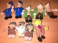 THE WOMBLES AND THE POST MAN PAT TEDDIES