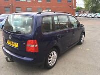 VW Touran TDI 7 Seater Good Runner with 1 Owner and mot
