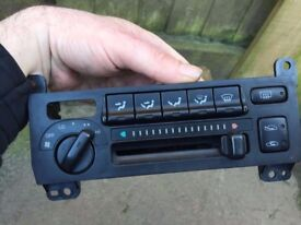 Toyota mr2 mk2 Air con controller with wiring harness and plugs