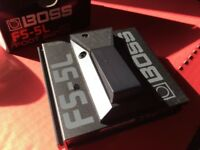 Boss Foot Switch FS-5L (as new, with box)