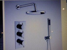 SHOWER - 3 way shower valve - brand new