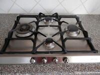 Smeg gas hob 60cm with wok burner