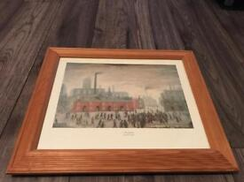 Lowry print - An Accident