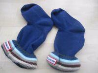 Kids Hunter welly socks UK 7-9 XXS