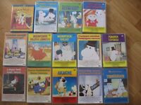 13 Moomin series DVDs and one film. New or as new condition.