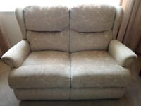 3 piece suite with rise and recline chair