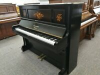 🎹 C. Bechstein, Black Ebony Inlaid Piano, Can Deliver, £1,900 !!! 🎹