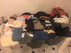 Women clothes bundle - size 12-14 - over 60 items