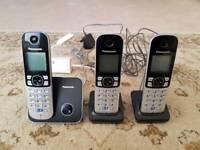 Panasonic Cordless Phones and Answering Machine