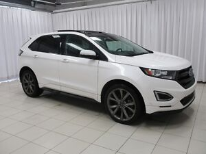 2016 Ford Edge SPORT ECOBOOST AWD SUV w/ ELECTRIC GARAGE DOOR OP