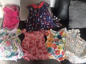 Baby girls next dress 18 -24 and 12-18