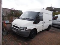 Ford Transit Diesel Van for Spares or Repair