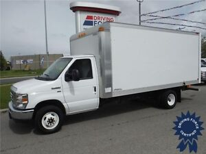 2015 Ford E450 - 16ft Cube Van - 15,585km - HD Payload Package
