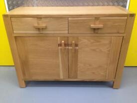 John Lewis Monterey Solid oak sideboard chest of drawers dresser Laura Ashley habitat loaf Lombok