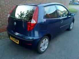 Fiat Punto Active 2004 blue for parts