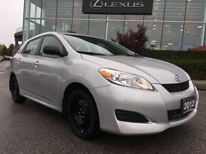 2012 Toyota Matrix *1 OWNER*LOW KMS