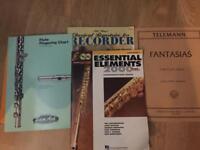 Flute Lession Books