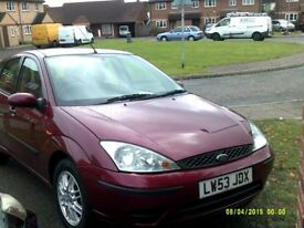 2004 ford focus lx 1.6cc 6 months mot good condition £595