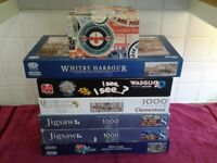 Collection Of Seventeen Jigsaw Puzzles In Very Good Condition-Proceeds To Local Charity Group