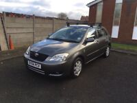 2004 TOYOTA COROLLA COLOUR COLLECTION 1.6 PETROL 5DR **DRIVES VERY GOOD + FULL SERVICE HISTORY**