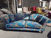 Patch work sofa