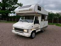 Fiat ducato hymer camp 46 3 berth camper van motorhome cassette toilet lhd