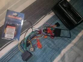 Corsa C aftermarket plug and play radio bluetooth/aux