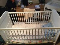 East coast Angelina Cot Bed (white)( Cot)