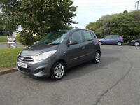 HYUNDAI I10 CLASSIC HATCHBACK GREY NEW SHAPE 2012 ONLY 24K MILES BARGAIN £2950 *LOOK* PX/DELIVERY