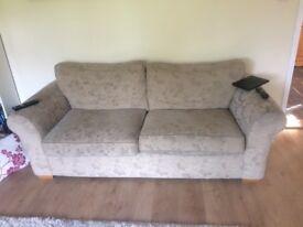 Free sofa light gold
