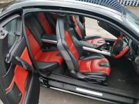 Mazda rx8, red and black leather, 2006.