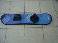 SNOW BOARD VERY GOOD CONDITION. 3 FT 1 IN LONG 9 IN WIDE