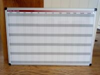 Annual Planner Magnetic Whiteboard