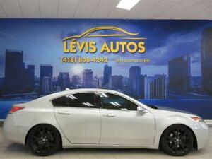 2012 Acura TL ÉLITE PACKAGE GPS NAVIGATION SH-AWD 137200 KM !