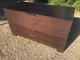 3 DRAW CHEST WITH 2 BEDSIDES