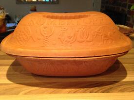 Romertopf 111 Original German Clay Baking Brick