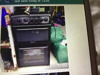 HOTPOINT GAS COOKER 12 MONTHS OLD