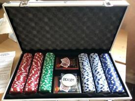 Poker Set in aluminium case