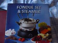 Steamer / Fondue brand unused still in original box ideal Christmas Present £12:00 buyer to collect