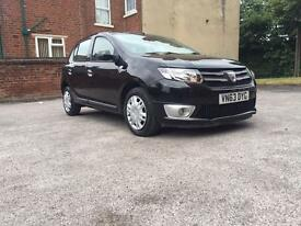 DACIA SANDERO LAUREATE 2013. 1.5 DESEIL. 1 OWNER. SATELLITE NAVIGATION