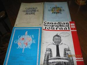 Canadian Geographical Journals