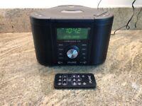 Used, Pure Chronos Series 2 Clock Radio DAB , Alarm and CD Player for sale  Huntingdon, Cambridgeshire