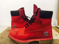 Timberland Limited Editions London Boots - Red